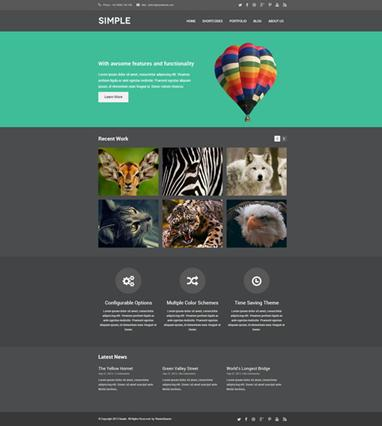 photo gallery template 17