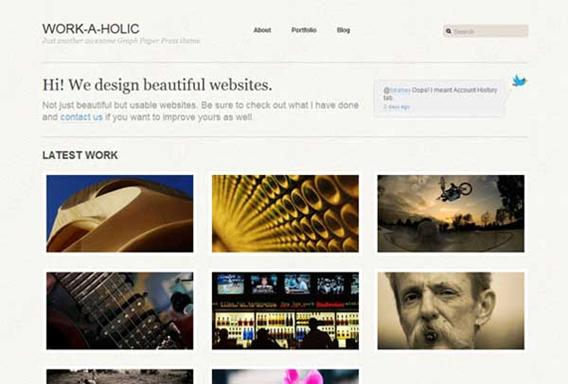 photo gallery template 20