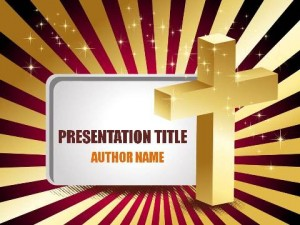 Christian Denominations PowerPoint Template1