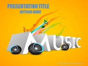 Evolution Of Music PowerPoint Template1