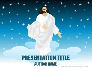 Miracles Of Jesus PowerPoint Template1