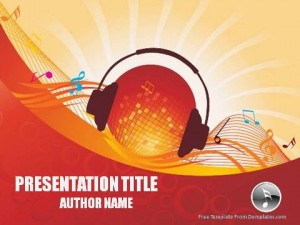 Music Events PowerPoint Template1