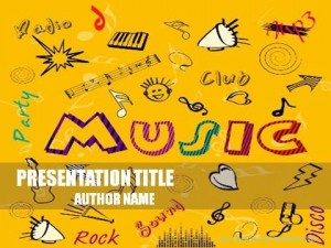 Music Mood PowerPoint Template1