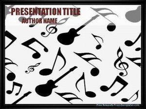 Music Notes PowerPoint Template1