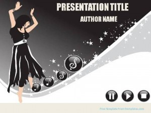 Music and Seasons PowerPoint Template1