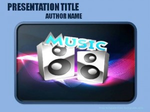 Music styles PowerPoint Template1
