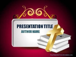 The Holy Bible PowerPoint Template1