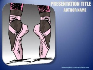 Ballet PowerPoint Templates-1