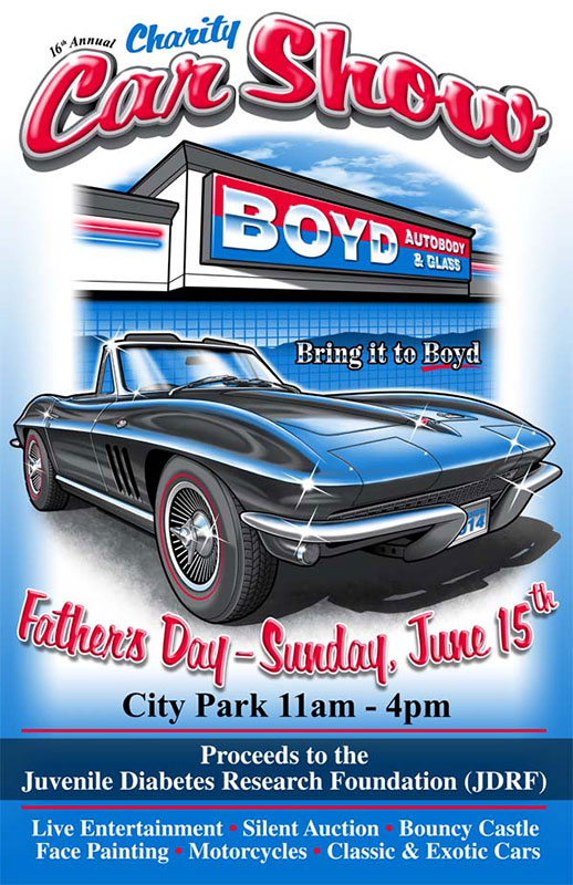 free car show flyer12