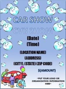 free car show flyer14