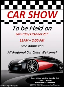 free car show flyer2