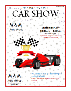 free car show flyer8