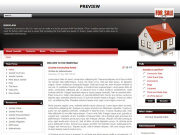 free joomla real estate template4