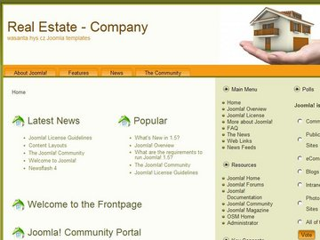 free joomla real estate template6