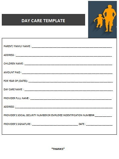 DAY CARE TEMPLATE 20