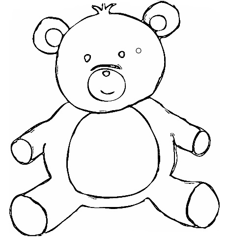 christmas toys coloring page