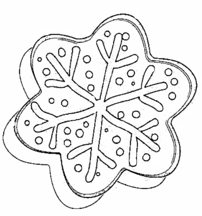 Christmas Gingerbread Coloring Page-10
