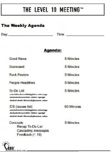 quarterly meeting agenda template
