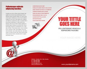 Tri fold brochure print ready template