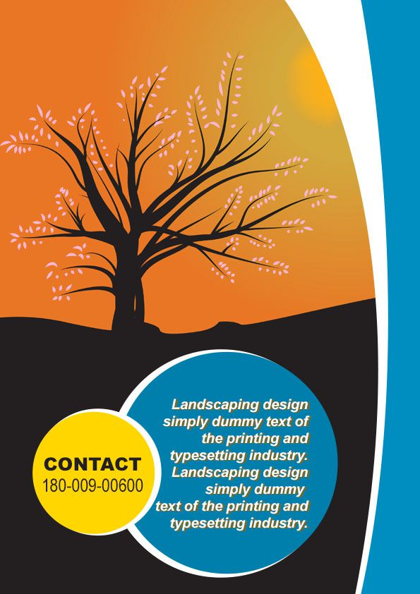 Landscaping Flyer Template 5