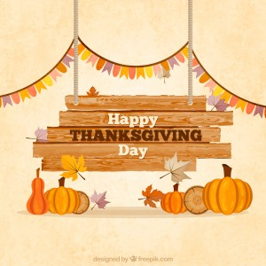 Thanksgiving Holiday Flyer