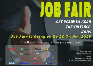 Career Fair Flyer Example