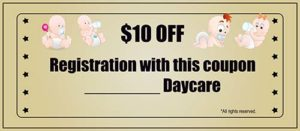 Free Babysitting Coupon Template 10