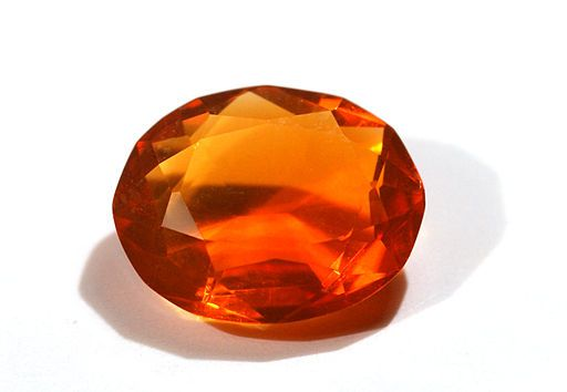 Fire Opal Gemstone - things that are orange