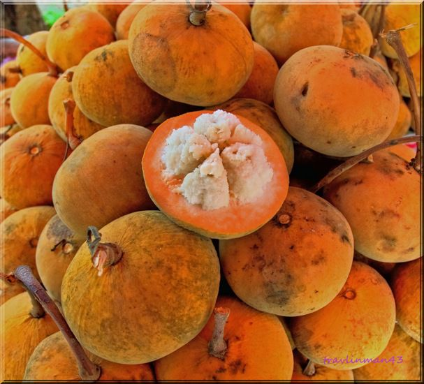 Santol fruit - things that are orange