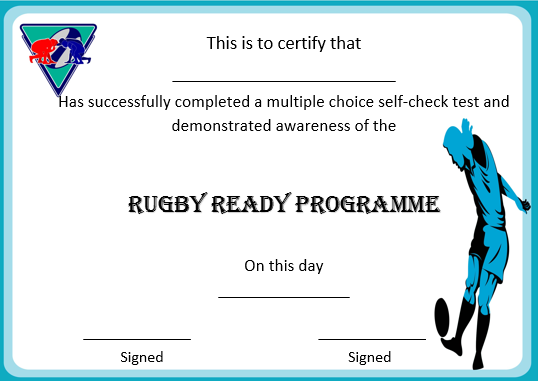 Online Rugby Coaching Certificate