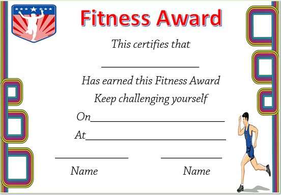 Certificate In Running Fitness