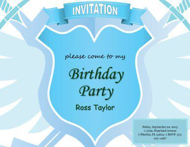 birthday invitation template 25