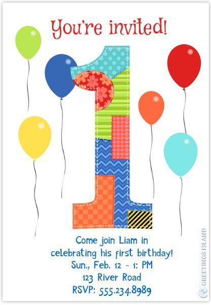 birthday invitation template 6
