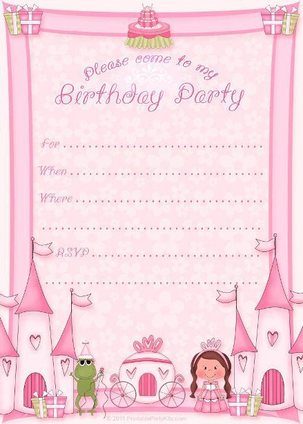 birthday invitation template 26