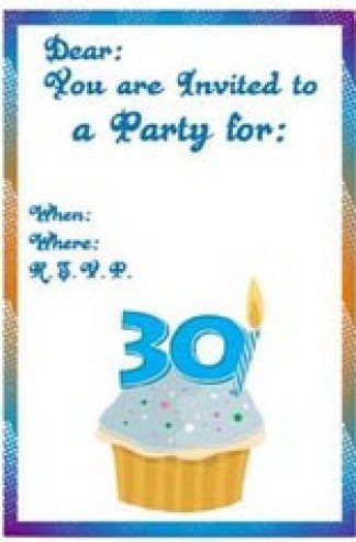 birthday invitation template 24
