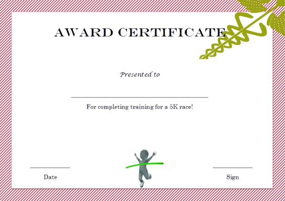 5k_winner_certificate_template