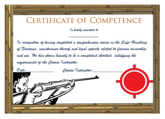 Shooting_certificate_for_competence