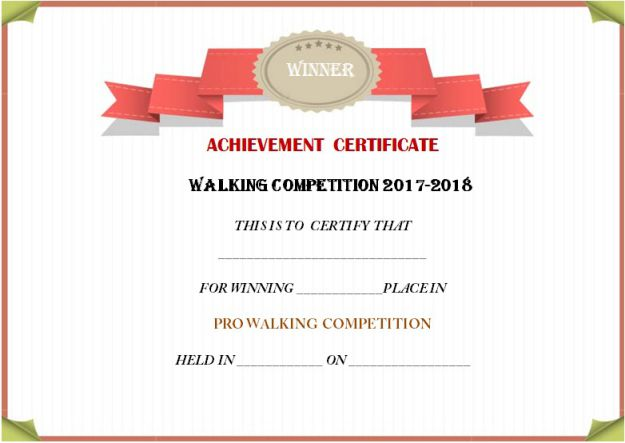 certificate_for_walking