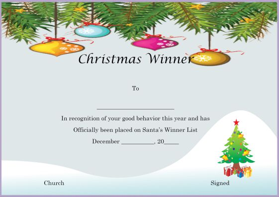 christmas_winner_certificate_template