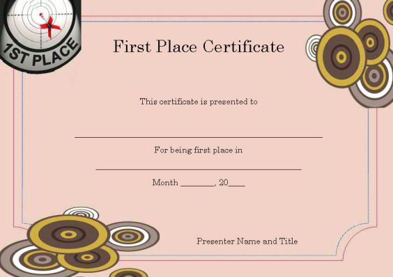 first_place_certificate_template
