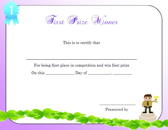 first_prize_winner_certificate_template