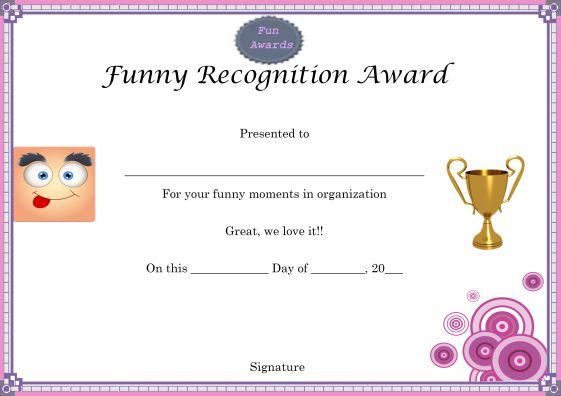 funny_recognition_award