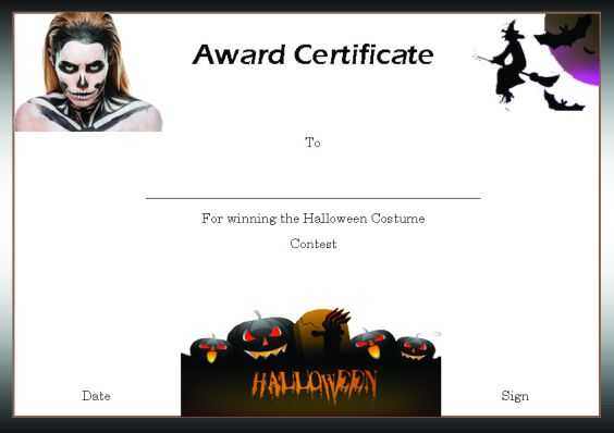 halloween_contest_winner_certificate_template