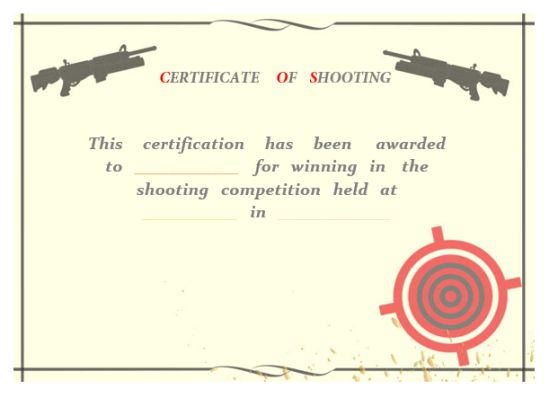 shooting_certificate
