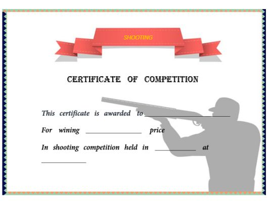 shooting_certificate_templates