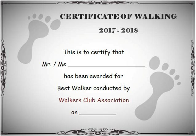 walking_certificate_template_1