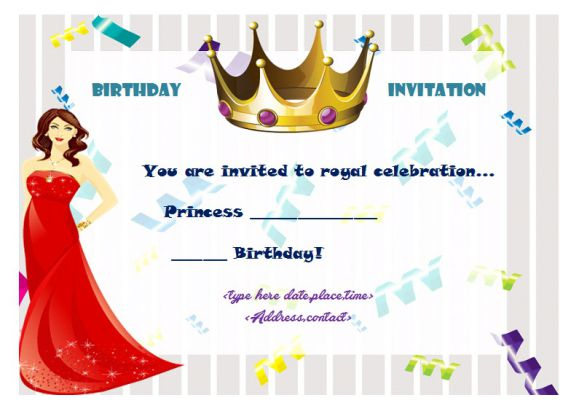 Princess_Birthday_invitation_certificate_1