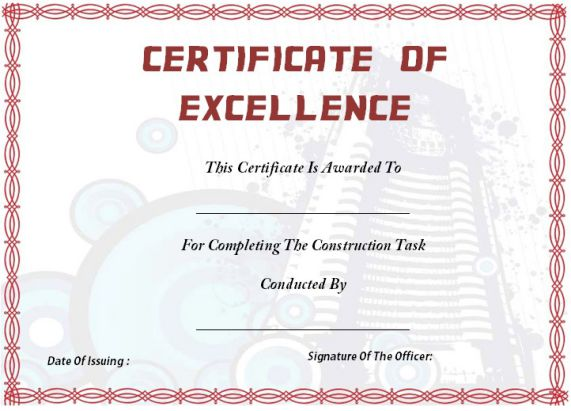 building_certificate_of_completion_template