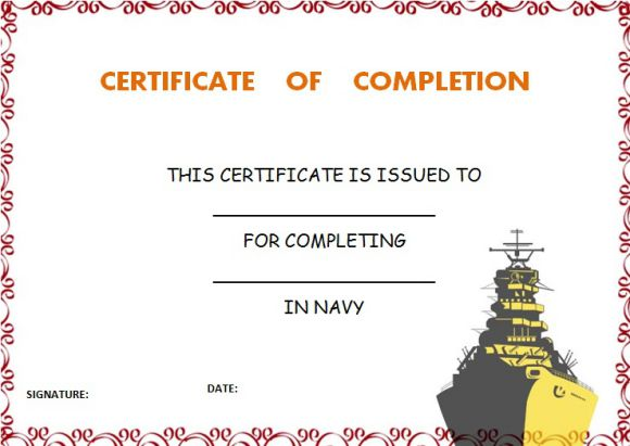 navy_certificate_of_completion_template
