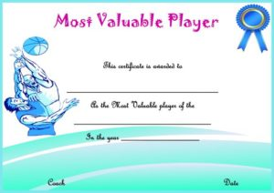 Basketball Camp Most Valued Player